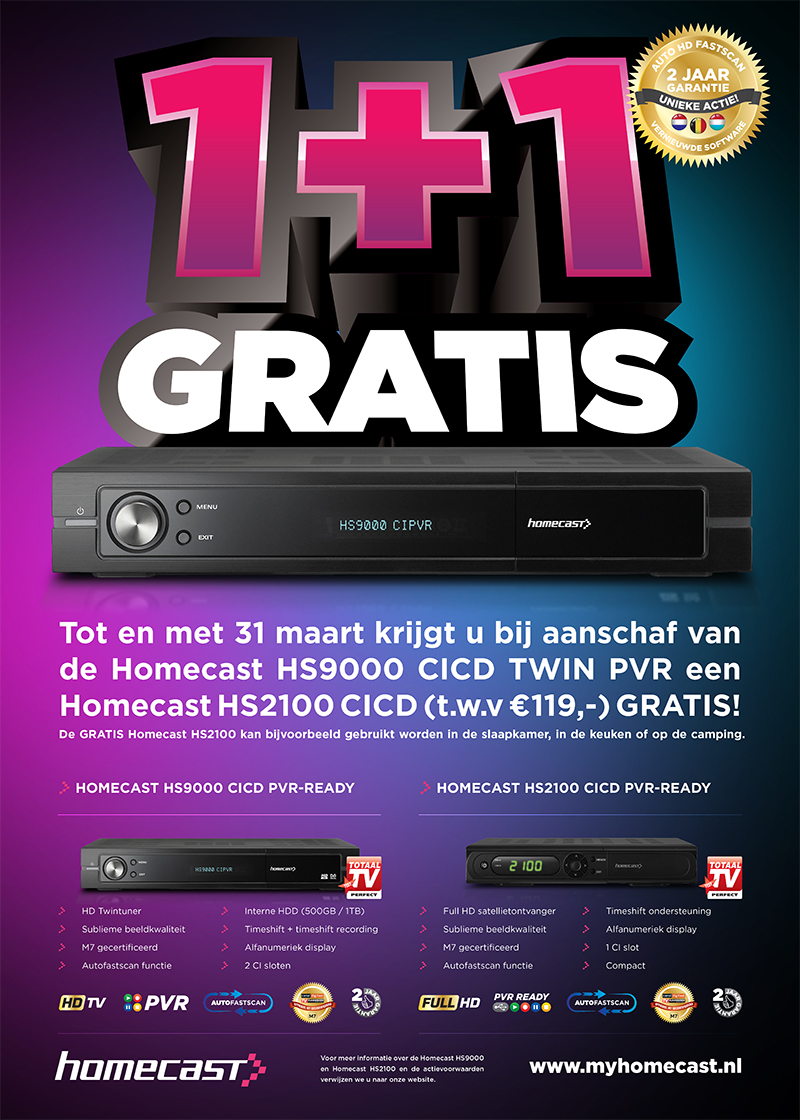 homecast advert